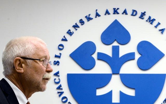 Na snímke predseda SAV Pavol Šajgalík