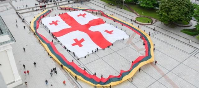 Gruzínci pomerne originálne oslávili Deň nezávislosti