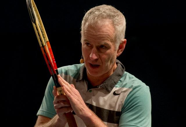 Na snímke John McEnroe