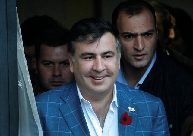 Na snímke bývalý gruzínsky prezident Michail Saakašvili