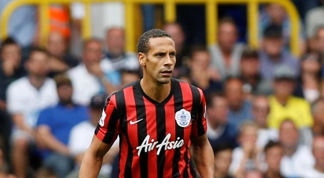 Na snímke bývalý anglický futbalový reprezentant Rio Ferdinand