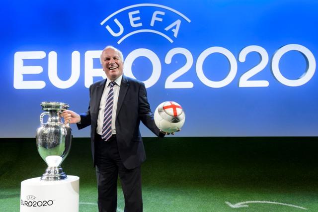 Na snímke prezident Anglickej futbalovej asociácie FA Greg Dyke