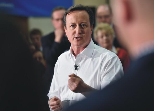 Britský premiér a líder Konzervatívnej strany David Cameron
