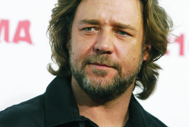 Na snímke Russell Crowe
