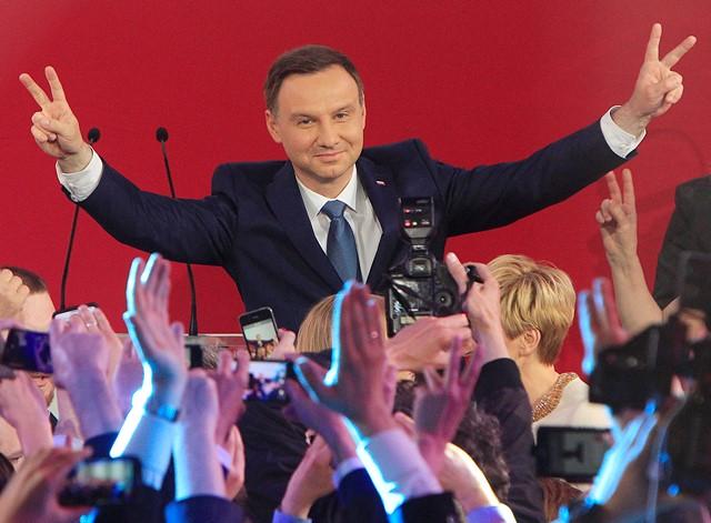 Na snímke Andrzej Duda