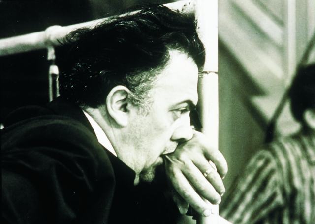 Na archívnej snímke Federico Fellini