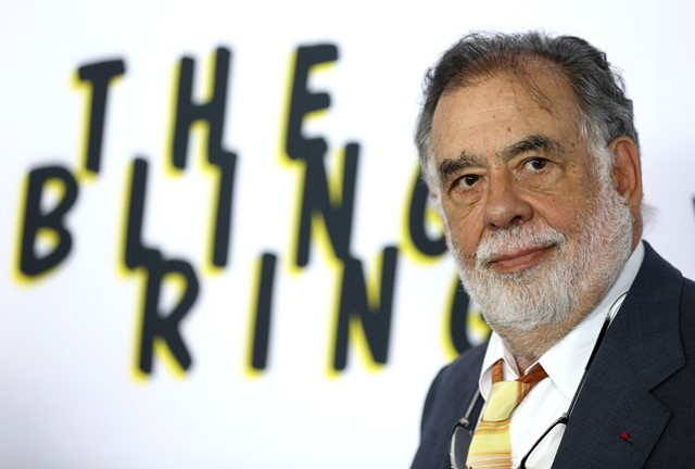 Na snímke americký filmový režisér Francis Ford Coppola