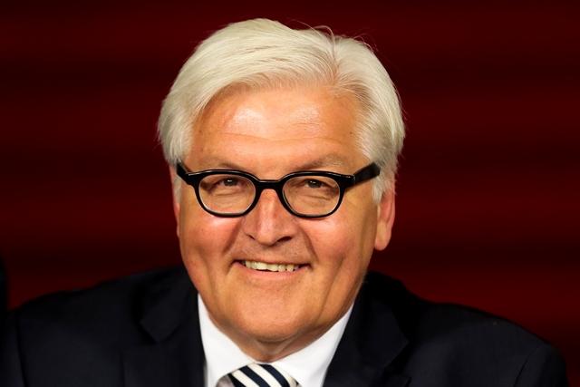 Na snímke nemecký minister zahraničných vecí Frank-Walter Steinmeier