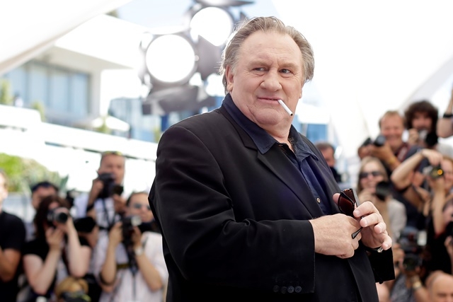 Na snímke francúzsky herec Gérard Depardieu
