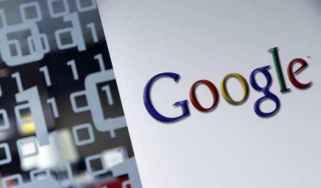 Na snímke logo Google