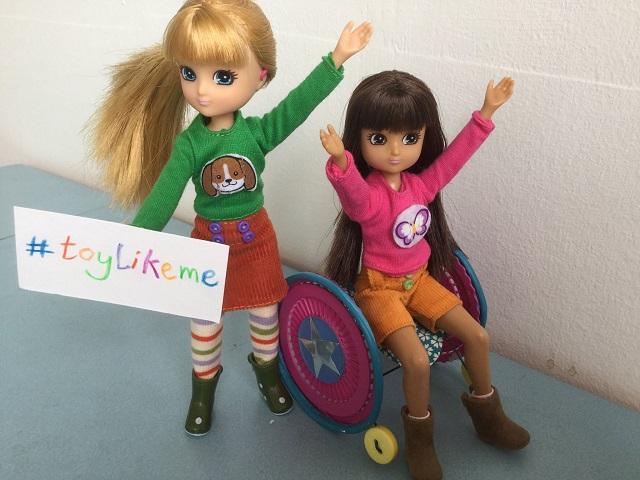 Bábiky so zdravotným postihnutím
