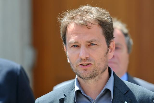 Na snímke predseda OĽaNO Igor Matovič