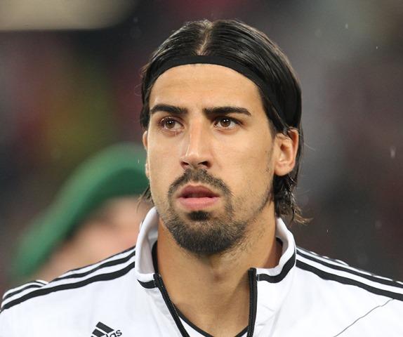Na snímke nemecký futbalový reprezentant Sami Khedira