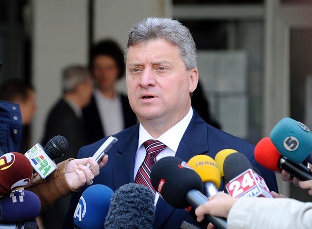 Na snímke macedónsky prezident Gjorge Ivanov
