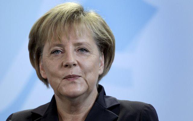 Na snímke nemecká kancelárka Angela Markelová