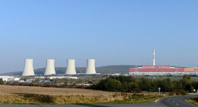 Na snímke jadrová elektráreň Mochovce