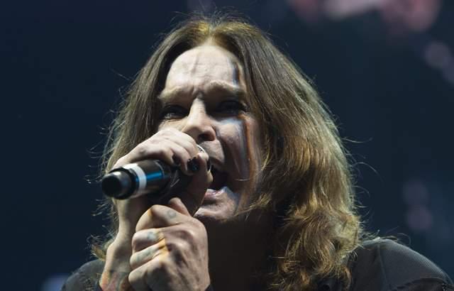 Na snímke americký spevák Ozzy Osbourne
