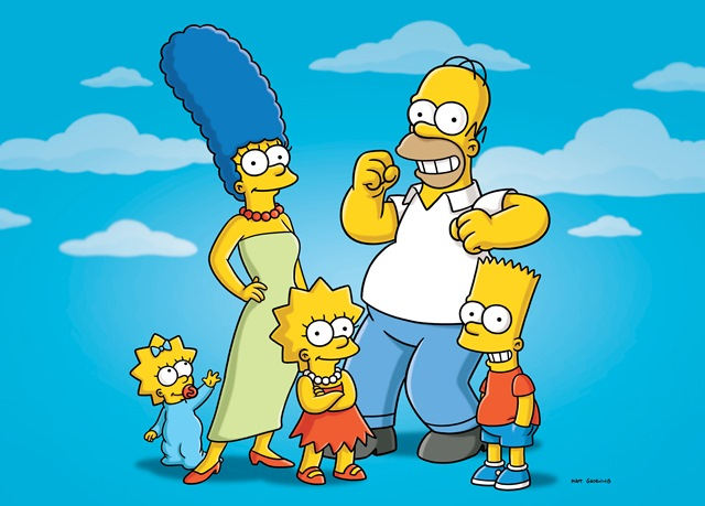 Na snímke postavičky kultového amerického animovaného seriálu Simpsonovci