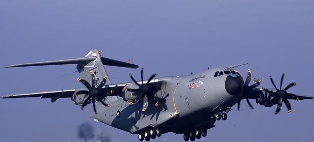 Vojenské dopravné lietadlo Airbus A400M
