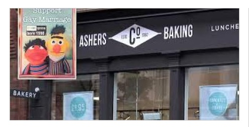 Predajňa Ashers Baking Company