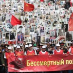 Nesmrteľný pluk, na ktorom 9. mája bolo vyše milióna ľudí