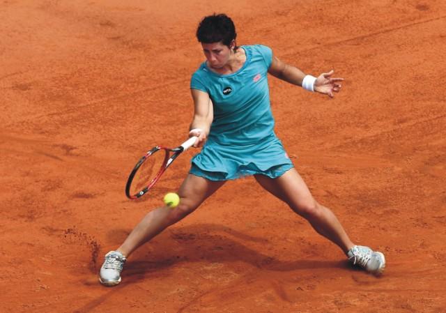 Španielska tenistka Carla Suarezová-Navarrová