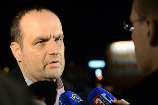 Na snímke predseda SDKÚ-DS Pavol Freššo