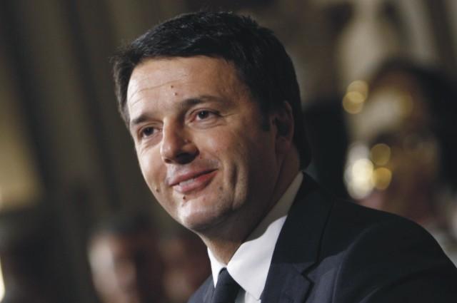Na archívnej snímke Matteo Renzi