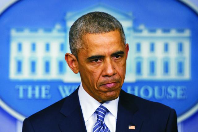 Na snímke Barack Obama
