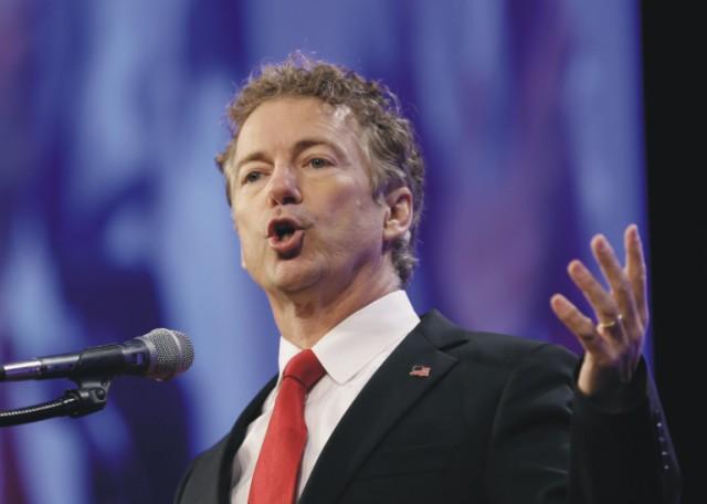 Na snímke senátor Rand Paul