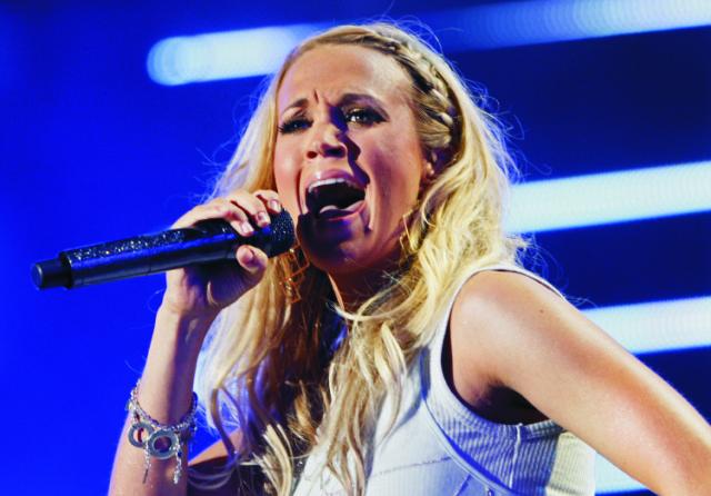 Na snímke Carrie Underwoodová
