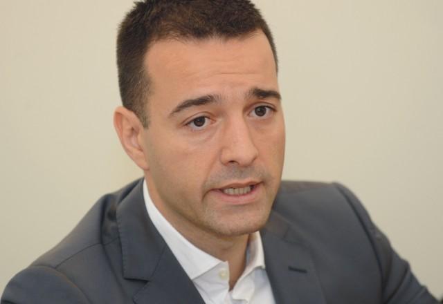 Na snímke predseda predstavenstva a generálny riaditeľ Slovenskej pošty, a.s. Tomáš Drucker