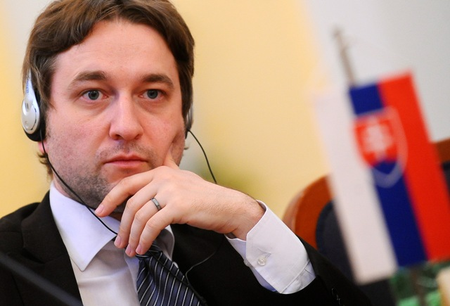 Na snímke poslanec Ľuboš Blaha
