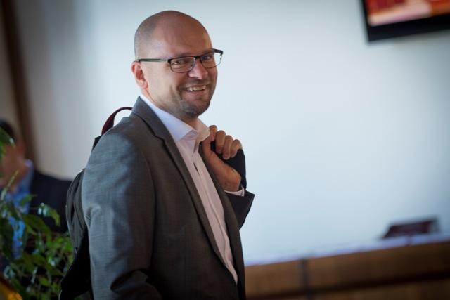 Na snímke poslanec Európskeho parlamentu a predseda strany SaS Richard Sulík