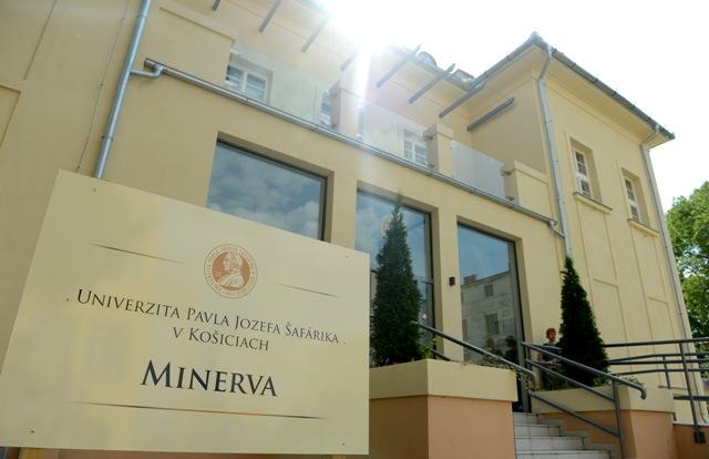 Na snímke rekonštrukcia budovy Minerva v UPJŠ v Košiciach