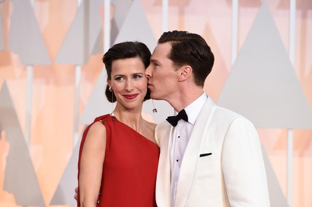 Na snímke Sophie Hunterová a Benedict Cumberbatch