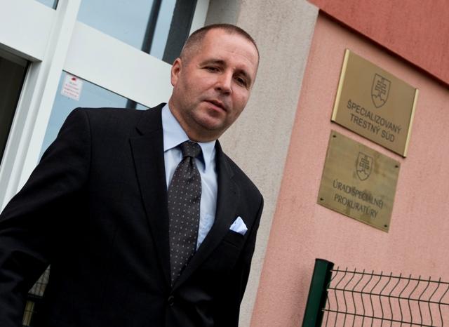 Na snímke  bývalý poradca expremiérky Ivety Radičovej Martin N.
