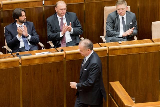 Prezident SR Andrej Kiska vystúpil so správou o stave republiky