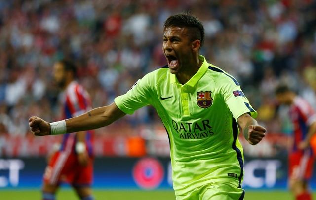 Na snímke kapitán brazílskej futbalovej reprezentácie Neymar