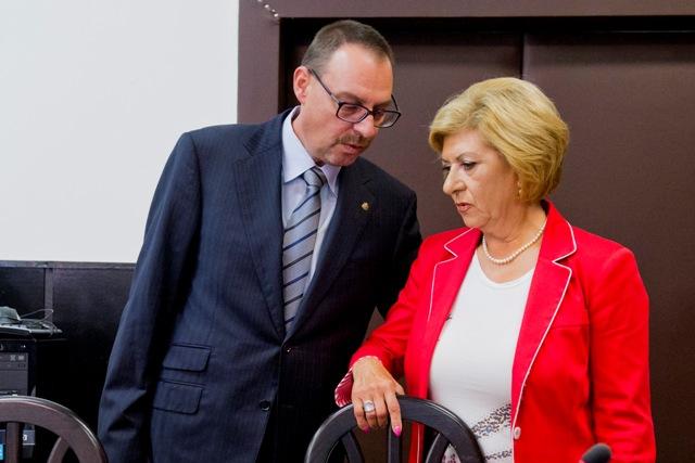 Na snímke vľavo Dobroslav Trnka