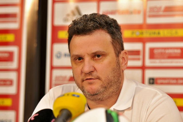 Na snímke generálny manažér FC Spartak Trnava Viktor Blažek