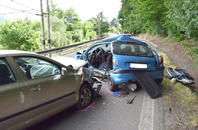 Na snímke tragická dopravná nehoda