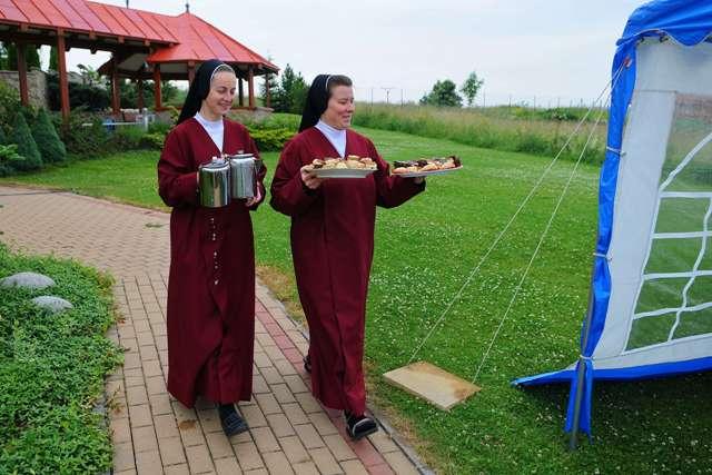Na snímke mníšky rádu redemptoristiek