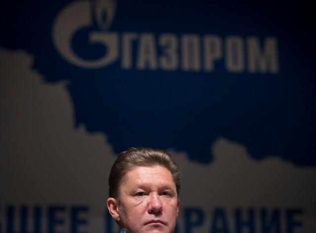 Na snímke šéf koncernu Gazprom Alexej Miller