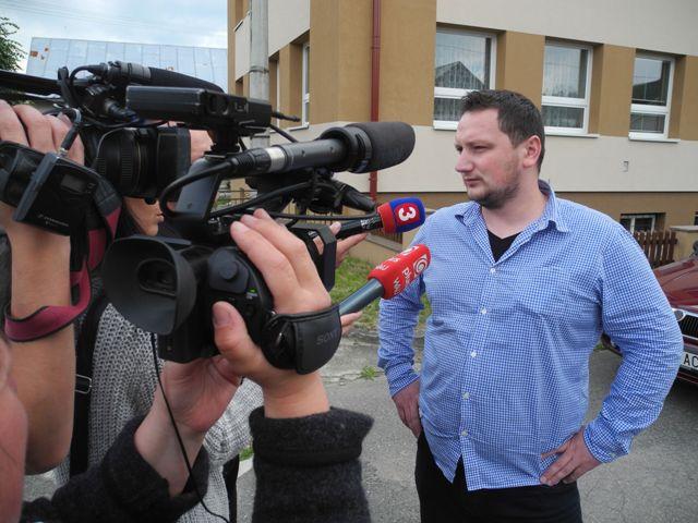 Na snímke starosta Veľkého Lipníka v okrese Stará Ľubovňa Peter Labant