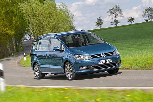 Modernizovaný VW Sharan