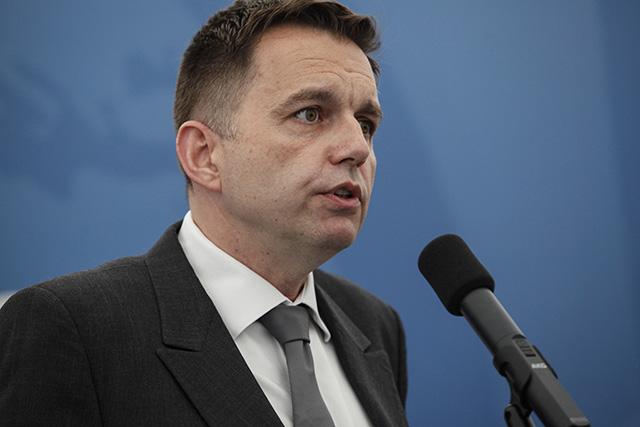 Na snímke minister financií SR Peter Kažimír