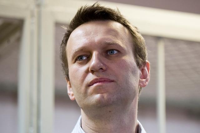 Na snímke ruský opozičný aktivista Alexej Navaľnyj