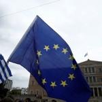 Grécko referendum demonštranti zhromaždenie