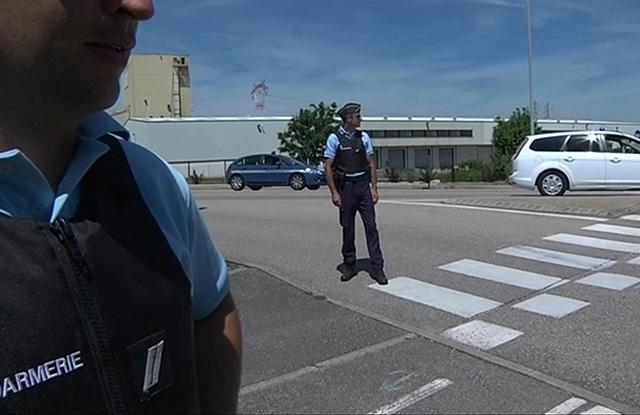 Snímka zo včerajšieho útoku na francúzske plynárne